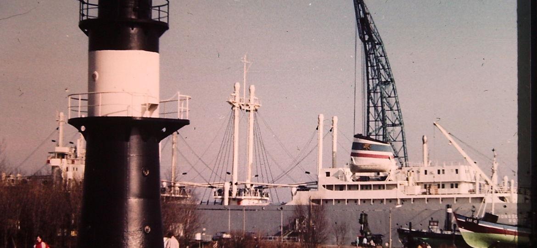historische Aufnahme Traditionsschiff